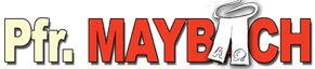 Pfarrer Maybach Sticky Logo